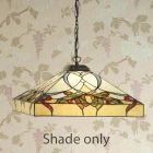 Interiors 1900 TG102SHL Alcea Tiffany 43cm Shade