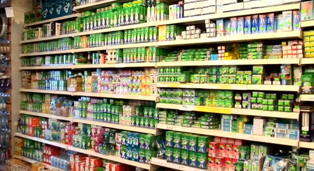 A vast selection of light bulbs in store!